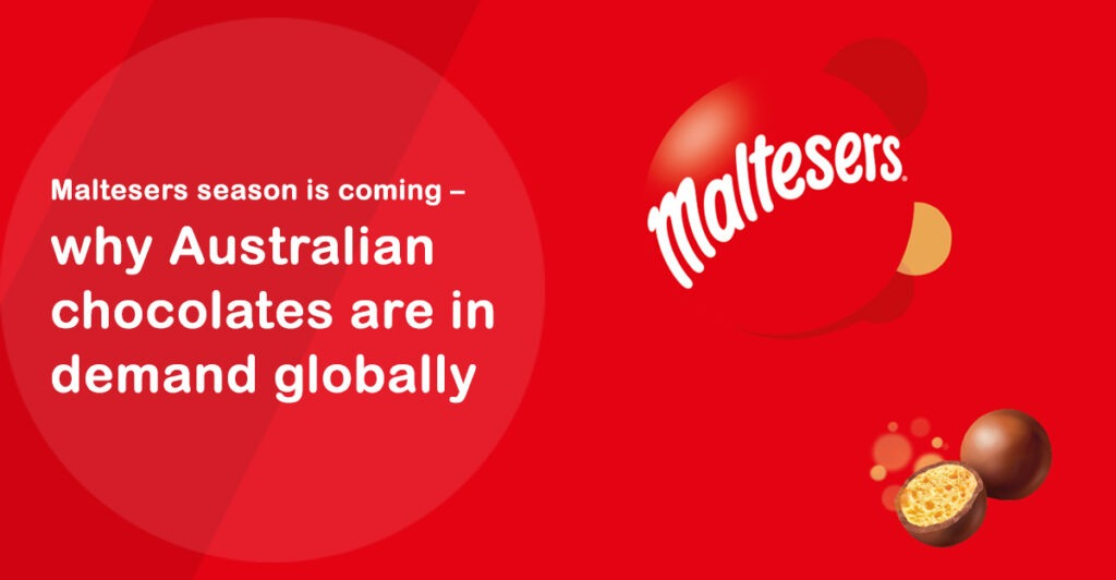 Maltesers season is coming – why Australian chocolates are in demand globally